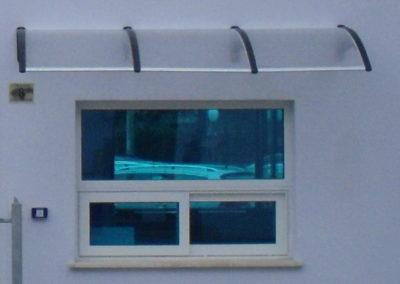 tettoia e passacarte